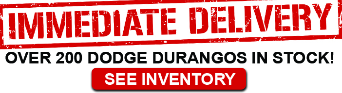 Over 200 Dodge Durangos in Stock